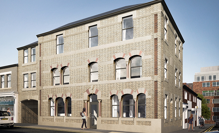 Arundel House Exterior Buy to Let Investment