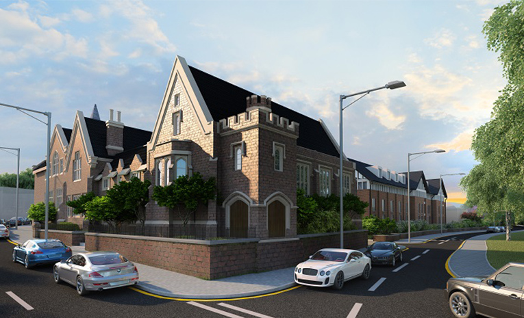 Orme House Buy to Let Apartments Newcastle Under Lyme